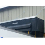 RAINSTOP™ Trailer Top Wiper Seal: Trailer top seals create a safer environment and protects property by diverting water away from the dock seal.
